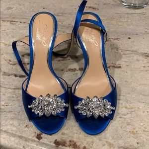 Badgley Mischka Strappy Heels